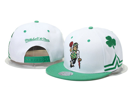Boston Celtics Snapback White Hat GS 0620